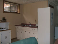 spacious 1 bedroom basement apartment in st jacobs