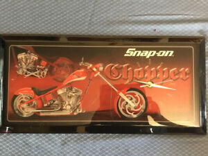 Snap-on Orange County chopper clock