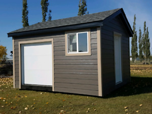Portable sheds and portable garages