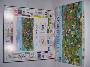 VICTORIA-OPOLY BOARD GAME