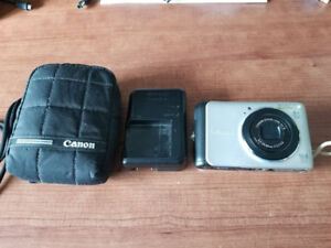 Canon A3000 IS Digital Camera - 4x Zoom - 10MP
