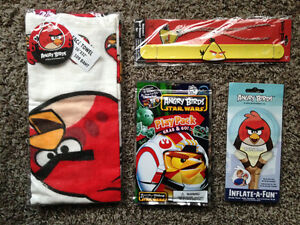 Angry Birds Star Wars pack Foil balloon Necklace Bracelet Towel