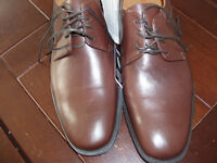 GEOX SHOES RESPIRA NEW  SIZE 9 COFFEE COLOUR