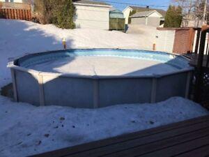 Tôle de piscine