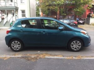 2013 Toyota Yaris manual hatchback - AWESOME car!!!
