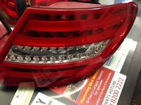 Mercedes c class w204 led amg facelift rear lights pair