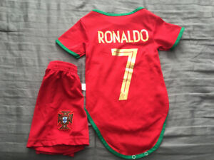 Ronaldo onesie and shorts  size 12 months