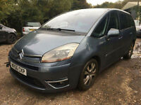 Citroen Grand C4 Picasso 2.0HDi 16v EGS Exclusive SPARES OR REPAIR