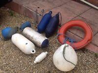 Boat fenders, Rhonde hooks