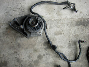 1992 F250 ALTERNATOR with BRACKET AND WIRING (7.3 idi)