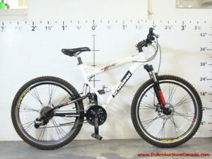 Schwann 24 speed dual suspension adult mountain bike