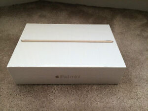 Apple iPad mini 4 128GB With Wi-Fi - Gold brand new