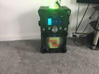 Singing Machine SDL9035 Carnaval Karaoke Machine
