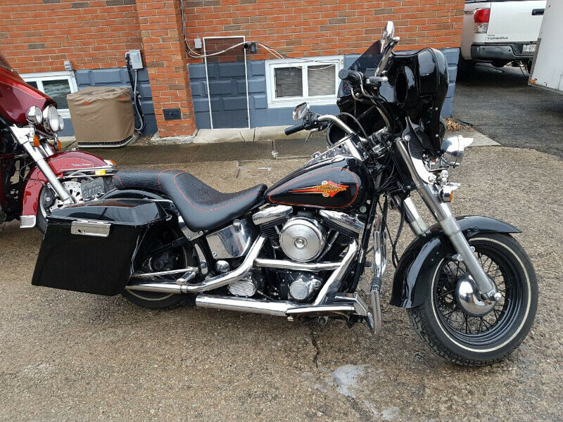 92 Harley Softail For Sale