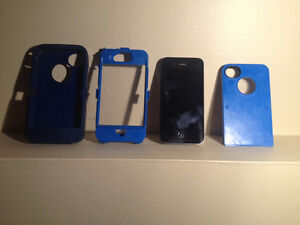 IPHONE 4 s and otter case