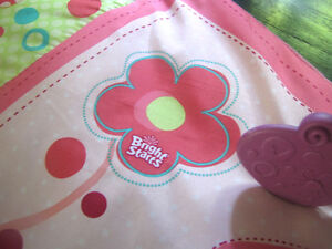 Bright Starts baby girl play mat Cambridge Kitchener Area image 2