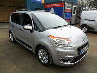 CITROEN C3 PICASSO 1.6HDI 90PS EXCLUSIVE DIESEL SILVER MANUAL 62REG