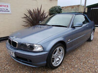 BMW 318 CI CONVERTIBLE AUTOMATIC FULL LEATHER 69K MILES FULL SEARVICE HPI CLEAR