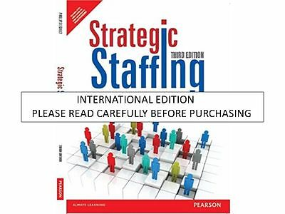 Strategic Staffing 3E By Phillips