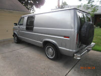1982 FORD VAN EQUIPED FOR CAMPING