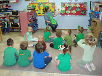 Full Time Child Care Spaces - ages 3 years and up