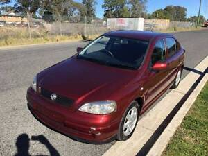 1999 Holden Astra Hatch Auto Alloys 3M REGO+3YR WARRANTY+RSA Ingleburn Campbelltown Area Preview
