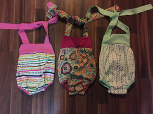 Hand made baby rompers and slippers
