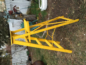 vintage yellow ladder 6 feet Edmonton Edmonton Area image 2
