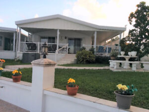 MANUFACTURED HOME FOR SALE IN HALLANDALE - FLORIDA