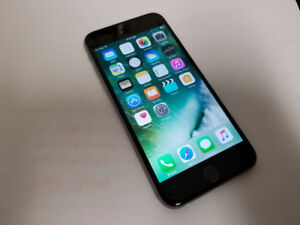 iPhone 6 64GB space grey locked to Bell Mobility