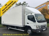 Mitsubishi Fuso Canter 7c15 Box Van & Tail Lift Euro5 [ Low Mileage ] 2011/ 11