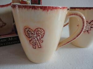 Brand new in box set of 4 holiday christmas theme coffee mugs London Ontario image 6