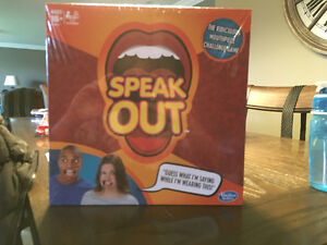 """BRAND NEW (STILL IN PACKAGE) """"speak out"""" game"""