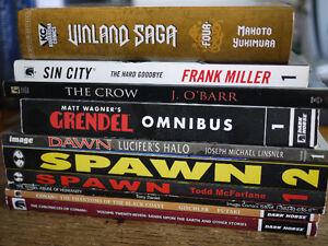 Lot of Graphic Novels
