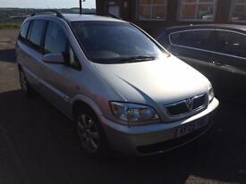 Cheap 7 seater to clear Vauxhall Zafira 1.6i 16v