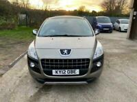2012 Peugeot 3008 1.6 EXCLUSIVE HDI 5d 112 BHP Hatchback Diesel Manual