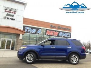2013 Ford Explorer XLT   ACCIDENT FREE, LOCAL TRADE, BLUETOOTH