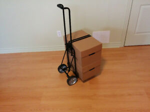 Chariot à bagages- Luggage cart folding