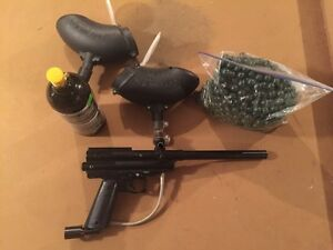 Paintball Marker + CO2 and Paintballs