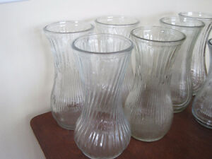 various glass vases - great for any occasion/ wedding $5 each Kitchener / Waterloo Kitchener Area image 2