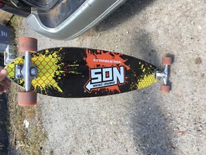 Limited edition longboard