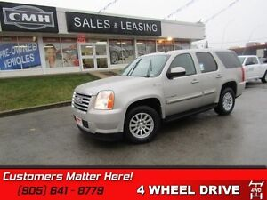 2009 GMC Yukon Hybrid   4X4!  NAV!  LEATHER!  REAR CAMERA!  BOSE