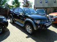 2006 Mitsubishi L200 2.5DI-D 4WD ( lth ) Double Cab Pickup Warrior NO VAT