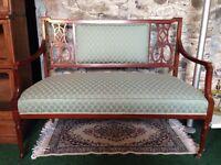 Stunning Edwardian 2 seater sofa