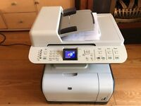HP laserjet CM1312MFI colour laser printer