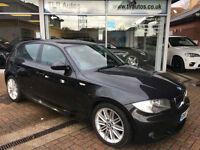 57 BMW 118D M Sport, Half leather, 78,000 mls