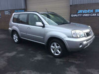2005 NISSAN X-TRAIL 2.2dCi 136 BHP SVE 4X4 TURBO DIESEL,93000 MILES WITH FULL
