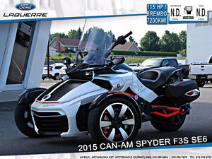 2015 Can-Am Spyder F3S SE6 **115HP*Brembo*Shock FOX**