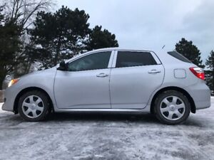 Car for sale Toyota matrix 2009- very low mileage-New tyres