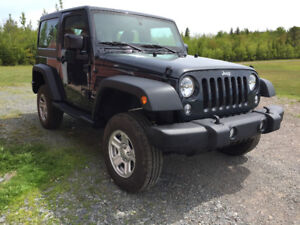 2017 Jeep Wrangler sport only 1400kms